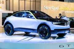 Opel GTX pojęcia Eksperymentalny samochód fotografia royalty free