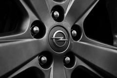Opel hjul Royaltyfri Fotografi