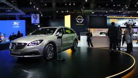Opel Insignia Country Tourer stock footage