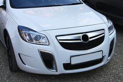 Opel insignia silver Royalty Free Stock Photography
