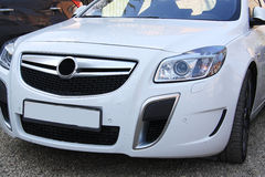 Opel insignia silver Royalty Free Stock Image
