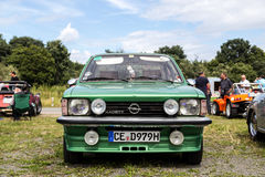 Opel Kadett at Beetle Meeting in Celle, Germany Royalty Free Stock Photos