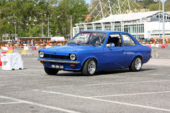 Opel Kadett during Leiria City Slalom 2012 Stock Photos