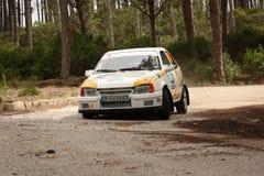Opel Kadett during Rally Vidreiro 2012 Stock Photo