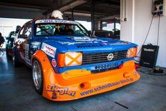 Opel Kadett tävlings- bil Royaltyfria Foton