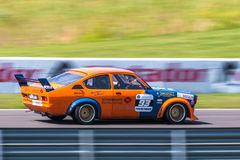 Opel Kadett tävlings- bil Royaltyfri Fotografi