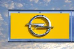 Opel-Logo Lizenzfreies Stockbild