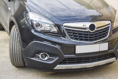 Opel Mokka front headlight Royalty Free Stock Photos