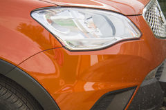 Opel Mokka front headlight Royalty Free Stock Image