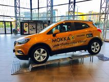 Opel Mokka. For show in Vilnius shopping Mall Royalty Free Stock Image