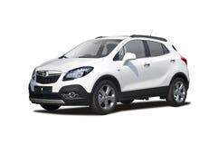 Opel Mokka SUV. Isolated on white Royalty Free Stock Photo