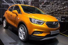 2016 Opel Mokka X car Royalty Free Stock Photo
