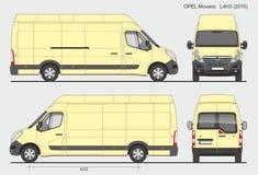 Opel Movano Груз Van L4H3 2015 Стоковые Фото