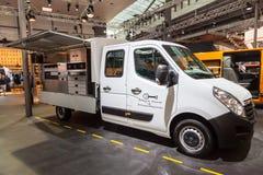 Opel Movano załoga taksówki ciężarówka Obrazy Stock