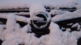Opel a neve fotografie stock