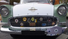 """Opel Rekord †del luglio 1957 """"luglio 1960 - automobile tedesca immagine stock libera da diritti"""