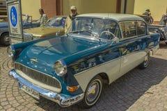 Opel Rekord, automobile classica Immagini Stock Libere da Diritti
