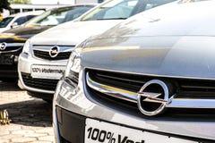 Opel samochody Zdjęcia Stock