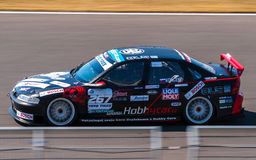 Opel Vectra race car. Photographed during Histocup event at Slovakia Ring on August 3, 2013 Stock Photography