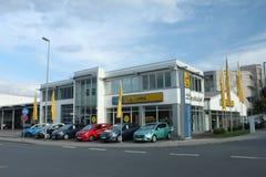 Opel-Verkaufsstelle Lizenzfreie Stockbilder