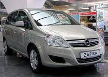 Opel Zafira Royalty Free Stock Photo
