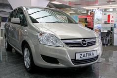 Opel Zafira Royalty Free Stock Image
