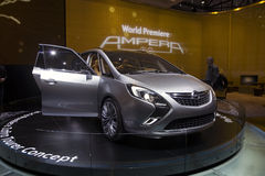 Opel Zafira Tourer Concept Royalty Free Stock Images