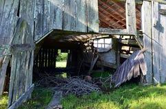 Opelousas,路易斯安那老谷仓03 图库摄影
