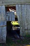 Opelousas,路易斯安那老谷仓05 免版税库存照片