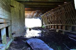 Opelousas, Louisiana Old Barn 04 royalty free stock image