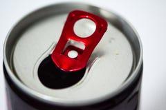 Open может питья энергии Стоковая Фотография