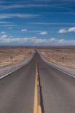 Abra a estrada em New mexico Imagem de Stock