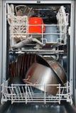Open afwasmachine Royalty-vrije Stock Afbeeldingen