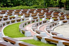 Open-air auditorium Stock Image