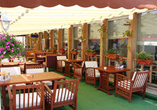Open air cafe Royalty Free Stock Photography