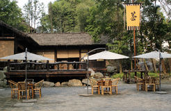 Open-air Cafe Stock Photo