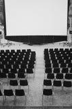 Open air cinema Stock Photo