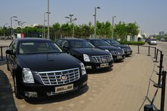 Open-air Exhbition, Dramatic Journey for 110 Years – 2012 Cadillac Design and Art Show, Beijing Stock Photography