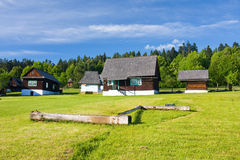 Open air folk museum, Slovakia Stock Image