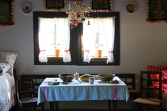 Open air folk museum, Slovakia stock photography