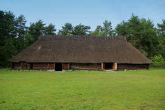 ESTI country side house. Open air museum in Estonia. Village, old country-side house Stock Photography