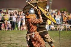 Open-air Legends of Norwegian Vikings Royalty Free Stock Photos