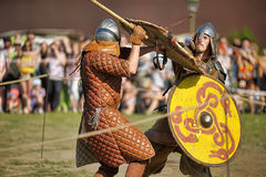 Open-air Legends of Norwegian Vikings Royalty Free Stock Image