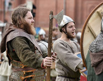 Open-air Legends of Norwegian Vikings Stock Photography