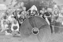 Open-air Legends of Norwegian Vikings Royalty Free Stock Photos