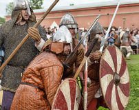 Open-air Legends of Norwegian Vikings Stock Photo