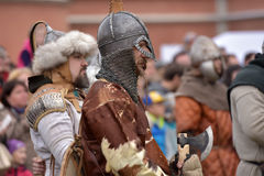 Open-air Legends of Norwegian Vikings Royalty Free Stock Photography