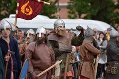 Open-air Legends of Norwegian Vikings Royalty Free Stock Images