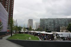 Open-air Market Rotterdam royalty free stock images
