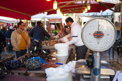 Open-air market, Palermo Stock Images